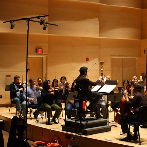 Recording soloists and ensembles